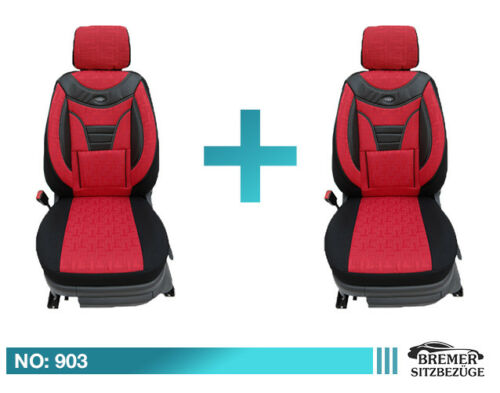 Toyota Avensis Auto Sitzbezüge Schonbezüge Sitzbezug Fahrer /& Beifahrer 903