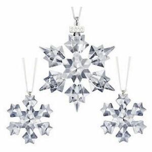 Swarovski Crystal Ornaments 682961 MIB 2004 Ornament Trio ...
