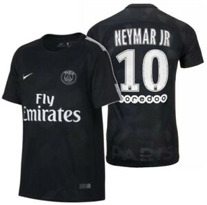 5fd6c595d4f NIKE NEYMAR JR PSG PARIS SAINT-GERMAIN YOUTH THIRD JERSEY 2017 18 ...