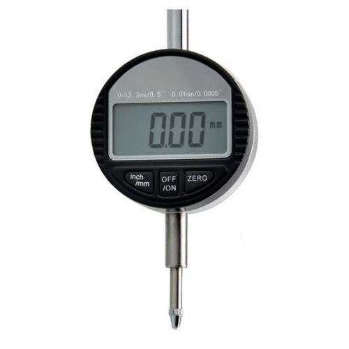 Electronic Digital LCD Outside Micrometer Set 12.7mm 0.01mm Measuring Hand Tool
