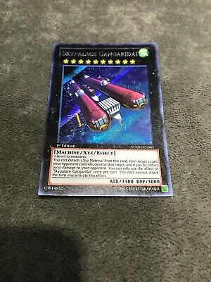 YUGIOH NUMH-EN045-1ST OR UNLIMITED SECRET RARE NM//M SKYPALACE GANGARIDAI