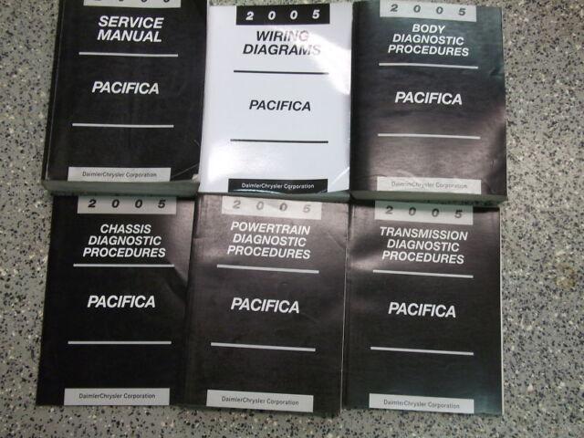2005 Chrysler Pacifica Service Repair Shop Manual Set W