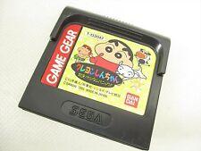 Game Gear CRAYON SHINCHAN Cartridge Only Sega Import JAPAN Game gg