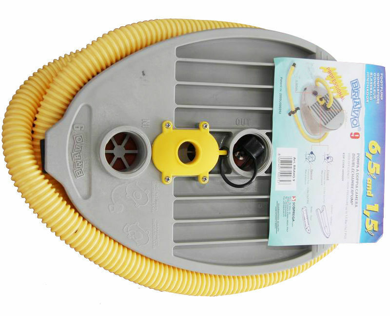 BRAVO 9 HIGH PRESSURE FOOT PUMP USEING FOR INFLATABLE BOATS