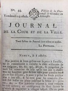 Chartreuse-Sainte-Marie-de-Glandier-1791-Beyssac-Roi-Louis-16-Journal-Royaliste