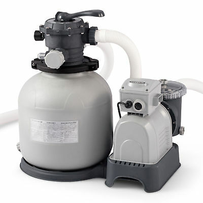 Intex 28651EG Krystal Clear 3000 GPH Above Ground Swimming Pool Sand Filter Pump
