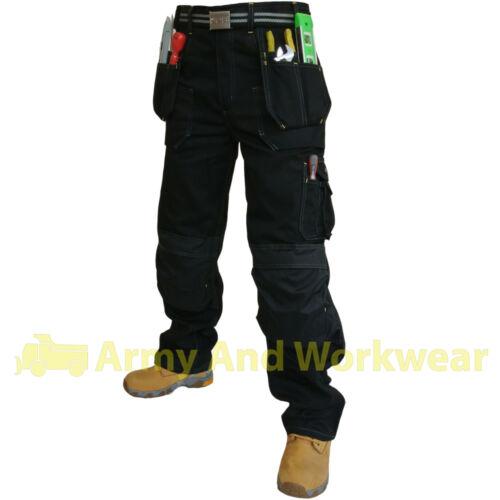2 x Click Hexham Canvas Triple Stitched Tuff Pro Work Trouser Nail Pocket Combat
