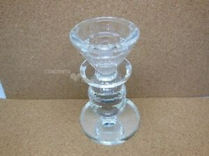 1X-New-Crystal-Single-Candle-Holder-12cm-High