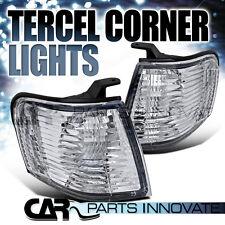 1995-1999 Toyota Tercel JDM Chrome Clear Corner Lights Turn Signal Lamps