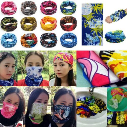 Cycling Bandana Headwear Face Shield Mask Magic Head Scarf Outdoor Accessories