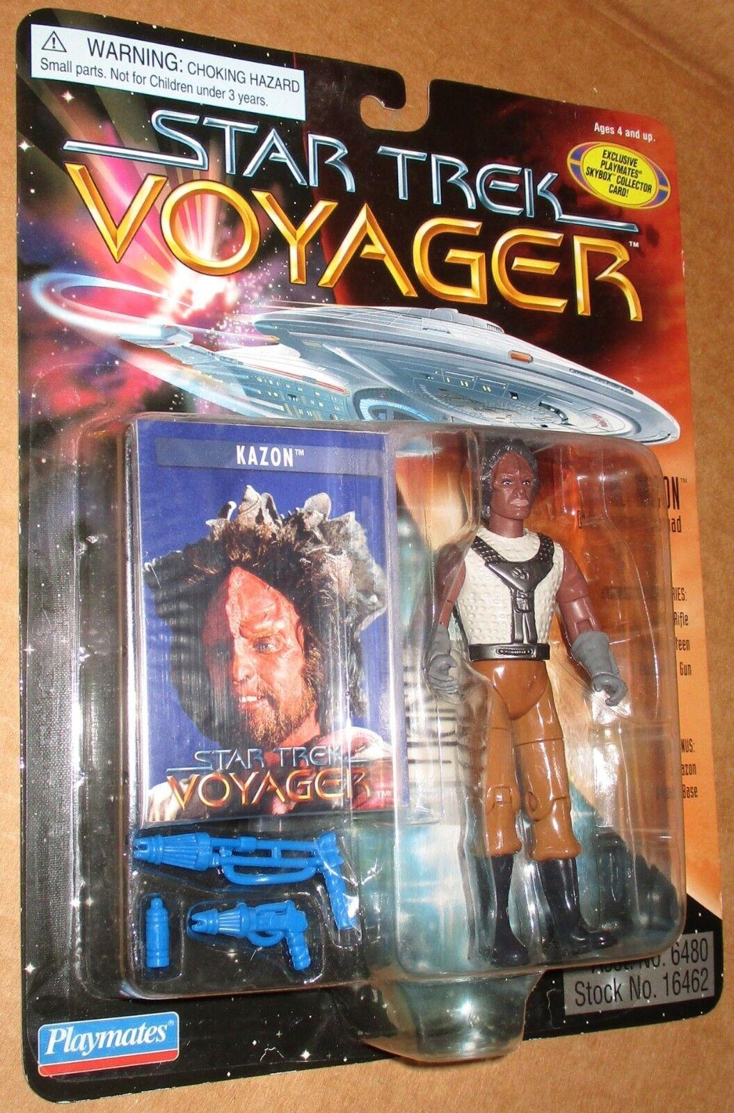 000002 Star Trek Voyager Niedrig Number The Kazon Figure MOC 1996 Playmates
