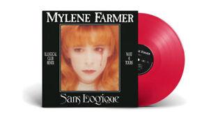 Mylene-Farmer-12-034-Sans-Logique-Tirage-Limite-Vinyle-Rouge