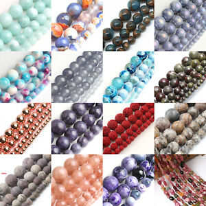 Wholesale-Natural-Stone-Gemstone-Round-Spacer-Loose-Beads-4MM-6MM-8MM-10MM-12MM