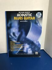 Book and CD Acoustic Blues Guitar Beyond Basics
