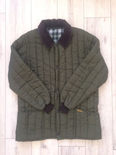 Rare BARBOUR Vintage Men Hunt Quilted Puffer Down… - image 1