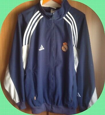camiseta chaqueta sudadera chandal futbol retro real madrid vintage adidas | eBay