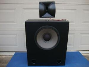 Nice JBL 3678 w/ 2425HS Professional Cinema Home theater Speaker - Tested!