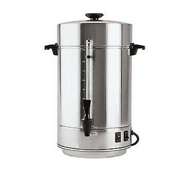12 to 101 Cup Aluminum 58001R Focus Foodservice FCMAA100 Coffee Urn