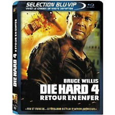2908 // DIE HARD 4 RETOUR VERS L'ENFER BRUCE WILLIS COMBO BLU RAY + LE DVD NEUF