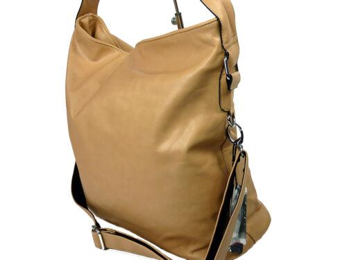 große Damen Tasche Schultertasche Handtasche Umhängetasche Shoppertasche 256-89