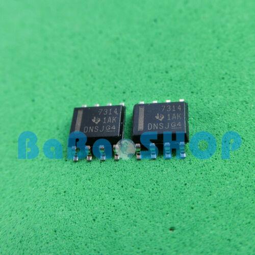 Original THS7314DR THS7314 7314 Amplificador de 3 canales de televisión de definición estándar video circuito integrado pequeño esbozo de ti 10 un 8