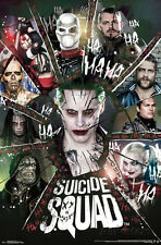 Suicide Squad Circle of Chaos Characters Movie Poster 22x34 Joker Harley Quinn