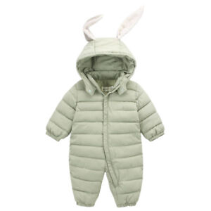 38dcd2c351a8 Toddler Infant Baby Girls Boys outerwear Hooded Winter Warm Jacket ...