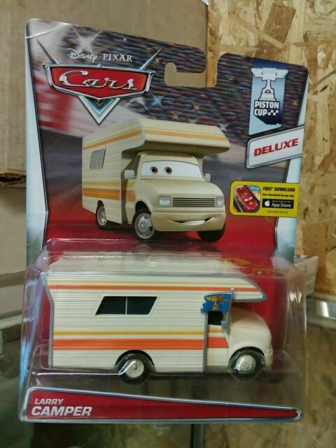 Disney Pixar Cars Piston Cup Larry Camper 2014 Deluxe For Sale Online Ebay