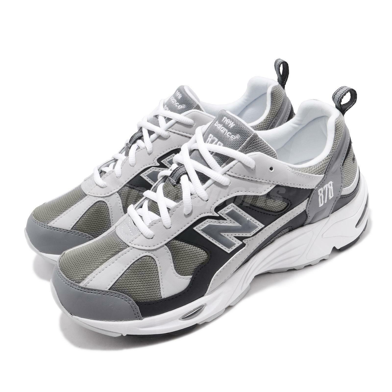 New Balance CM878GRY  D grigio bianca Mens Running Casual scarpe scarpe da ginnastica CM878GRYD  spedizione veloce a te
