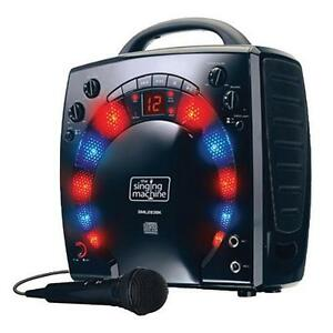 the singing machine with disco lights