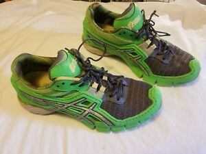 Details about asics us 9.5 running shoes f461010 used good condition