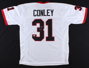 Details about Chris Conley Signed Georgia Bulldogs Jersey (TSE COA) Kansas City Chiefs W.R.