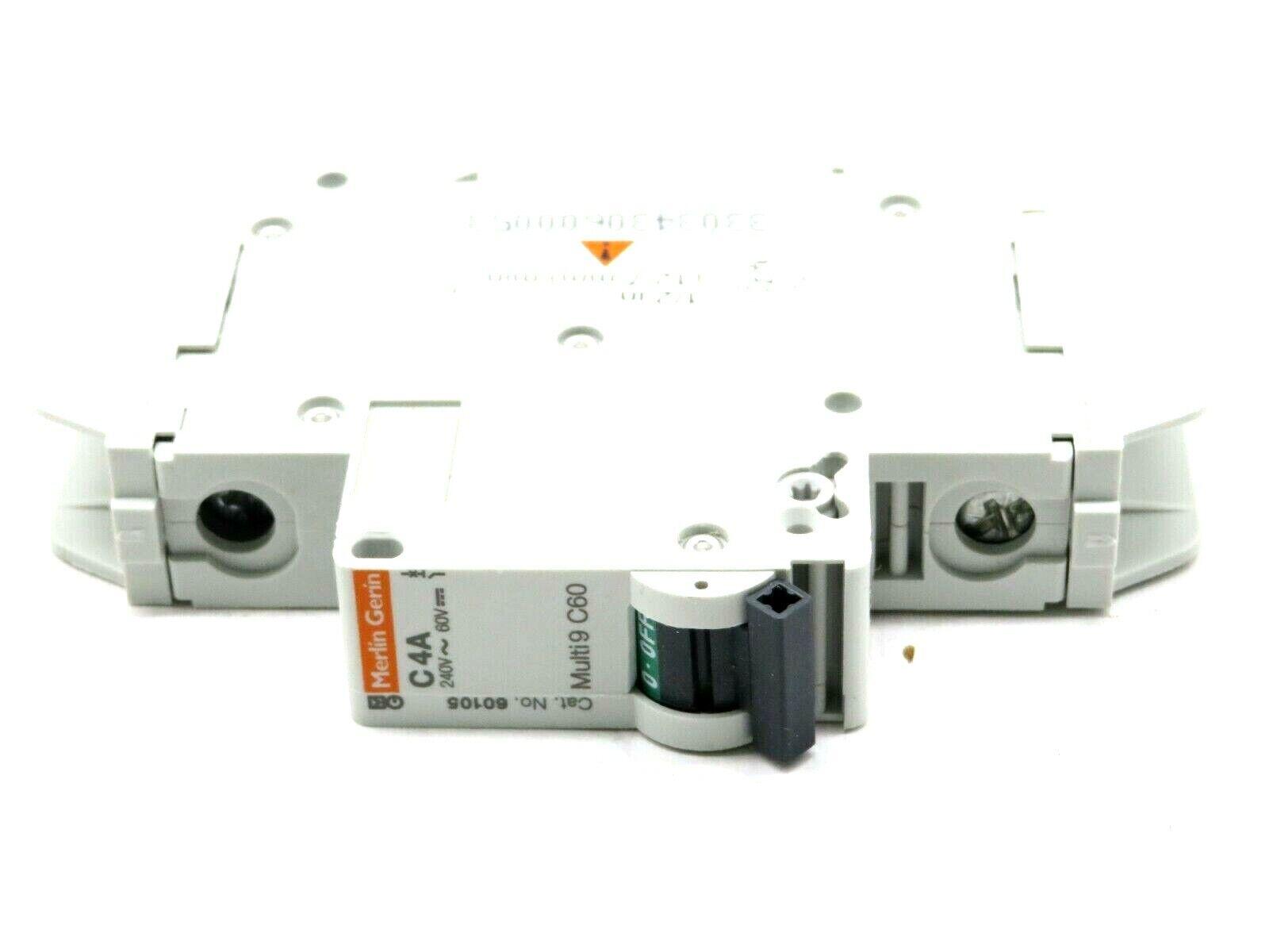 Square D Circuit Breaker 60105 Multi 9 C60 Merlin Gerin