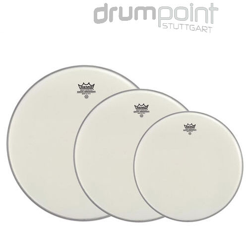Remo Propack Fellsatz 12,13,16 Emperor white coated Drumheads