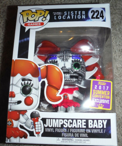 Funko Pop Games  Five Nights At Freddy/'s Sister Jumpscare Baby #224 *NEW*
