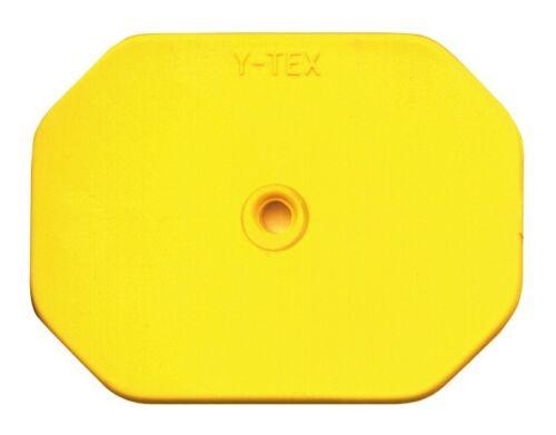 Blank Swine Star Yellow 25 ct 5713 NEW Y-Tex Ear Tags