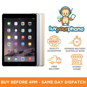 Apple-iPad-Air-2-16-32-64-128GB-All-Colours-Wi-Fi-Only-Wi-Fi-4G-AU-Model