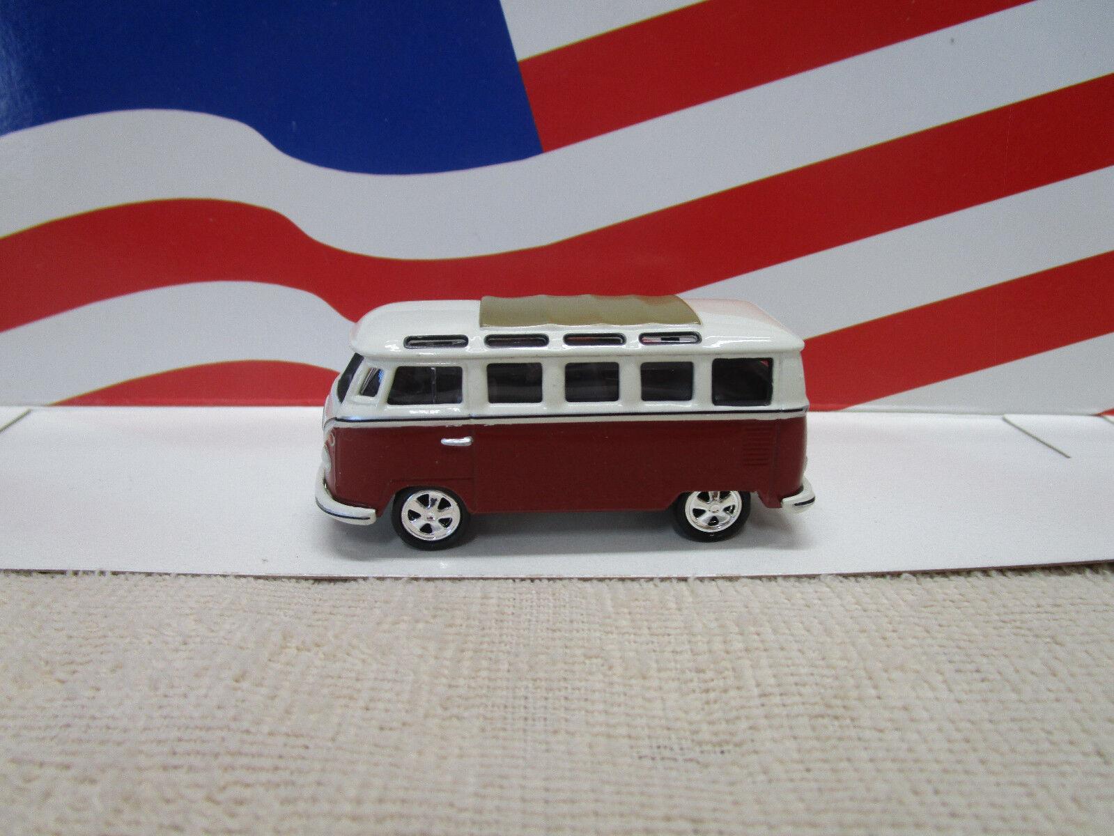 JOHNNY JOHNNY JOHNNY LIGHTNING VOLKSWAGEN SAMBA BUS AKA VW BUS rosso/bianca LOOSE 3b04bd