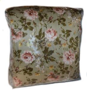 Ralph-Lauren-YORKSHIRE-ROSE-FLORAL-Full-Queen-Comforter-NEW-Green-Pink-Gold