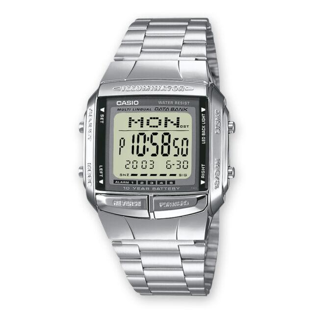 Casio DB-360N-1AEF, Telememo 30, Cronometro, 5 Sveglie, Fuso orario DB-360