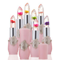 Flower Lipstick Color Jelly Transparent Magic Changing Lip Temperature Change