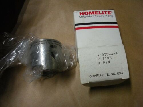 NOS oem Homelite chainsaw piston /& rings 95882 vintage chainsaw