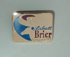 Labatt-Brier-Curling-PIN-Calgary-Alberta-1997-PIN