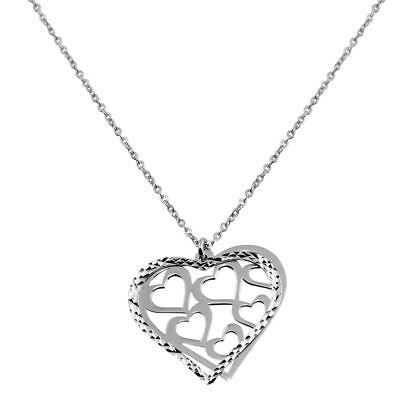 SURANO DESIGN JEWELRY Sterling Silver Flat Cross Pendant