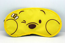 funny bear yellow  Sleep Masks eye mask winnie the poon AB47