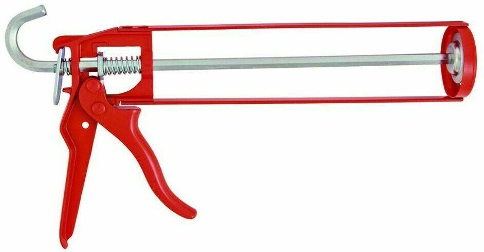 ETC CAULKING GUN EG221 225mm Open Frame, Metal Handle