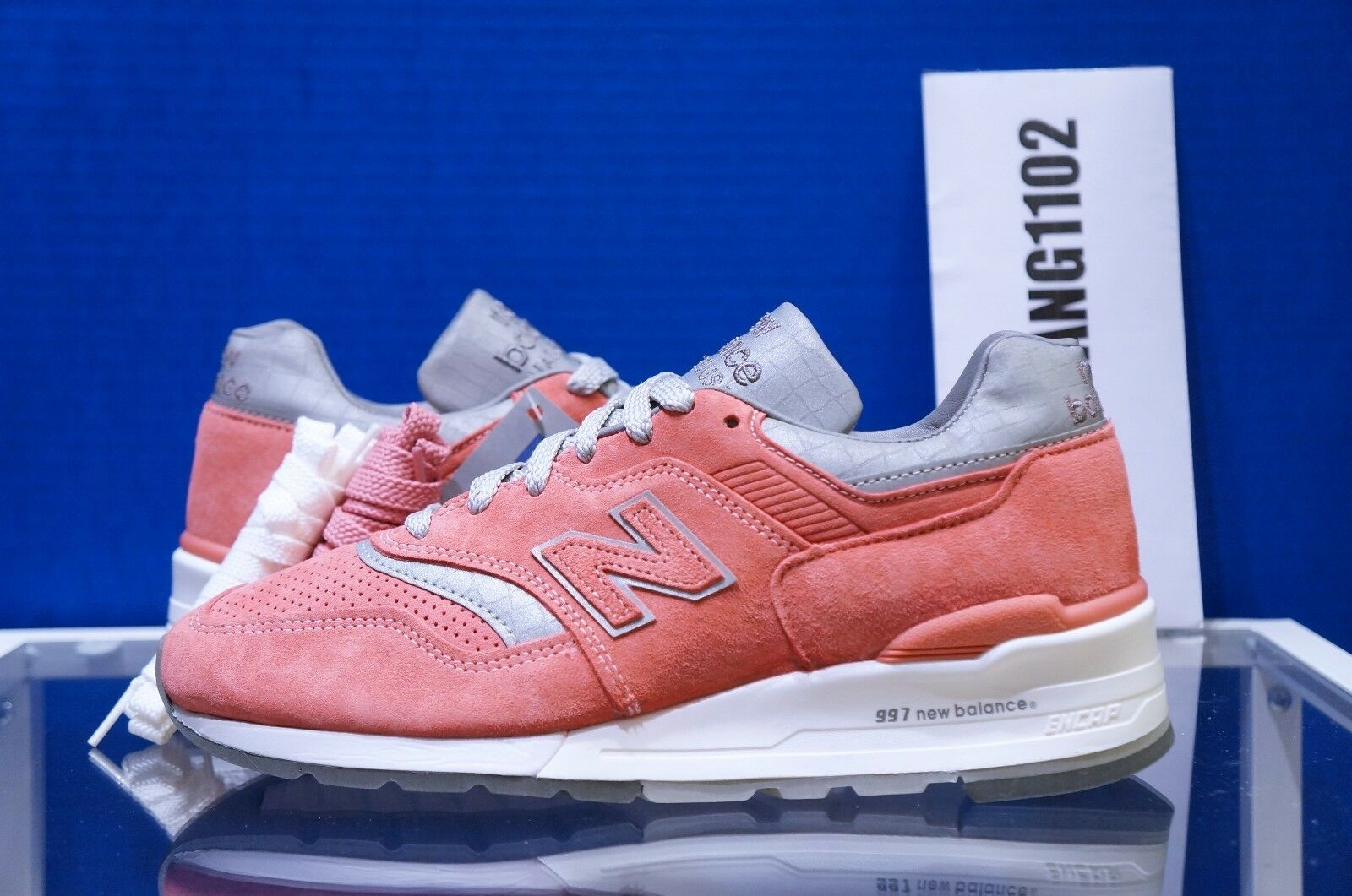 SPECIAL BOX New Balance Concepts CNCPTS 997 Rose Silver Pink M997CPT 5.5 - 9.5