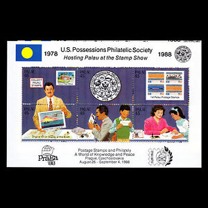 Image Is Loading Palau 1988 United States Possessions Philatelic Society Sc