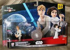 Disney Infinity 3.0 Rise against the Empire Luke Skywalker & Princess Leia - NIB