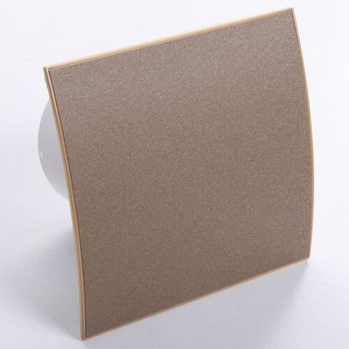Ventilator Badlüfter Wandlüfter LüfterØ100 mit verschiedenen Frontplatten